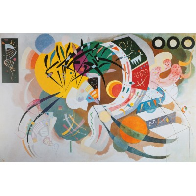Puzzle  Art-by-Bluebird-60110 Kandinsky - Courbe dominante, 1936