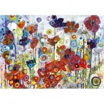 Puzzle  Art-by-Bluebird-60121 Sally Rich - Poppies
