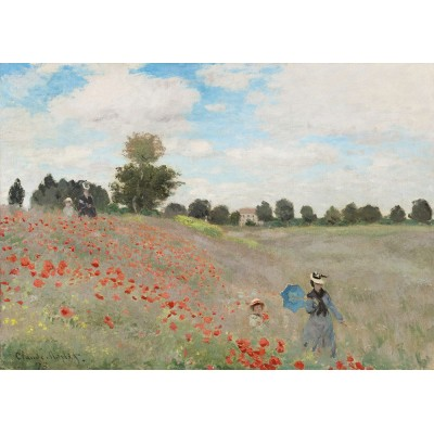 Puzzle  Art-by-Bluebird-60122 Claude Monet - Poppy Field, 1873