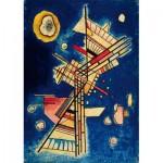 Puzzle  Art-by-Bluebird-60131 Vassily Kandinsky - Dunkle Kühle (Fraîcheur sombre), 1927