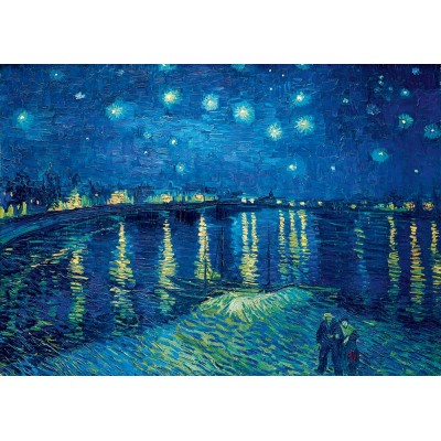 Puzzle  Art-by-Bluebird-Puzzle-60002 Vincent Van Gogh - Starry Night over the Rhône, 1888