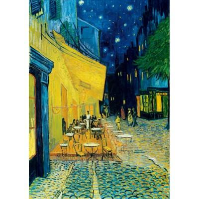Puzzle Art-by-Bluebird-Puzzle-60005 Vincent Van Gogh - Café Terrace at Night, 1888