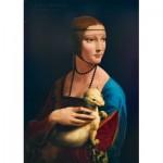 Puzzle  Art-by-Bluebird-Puzzle-60012 Leonardo Da Vinci - Lady with an Ermine, 1489