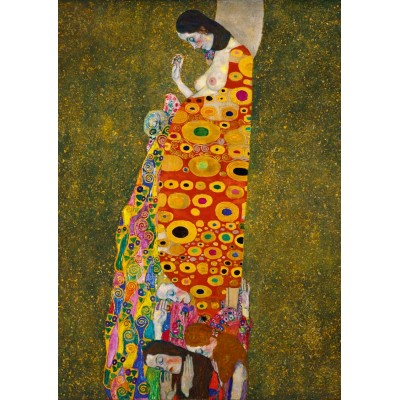 Puzzle  Art-by-Bluebird-Puzzle-60022 Gustave Klimt - Hope II, 1908