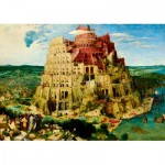 Puzzle  Art-by-Bluebird-Puzzle-60027 Pieter Bruegel the Elder - The Tower of Babel, 1563