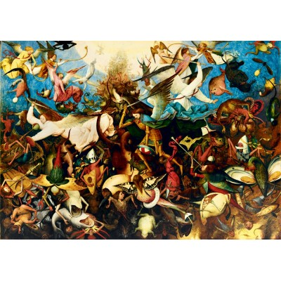 Puzzle  Art-by-Bluebird-Puzzle-60032 Pieter Bruegel the Elder - The Fall of the Rebel Angels, 1562