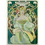 Puzzle  Art-by-Bluebird-Puzzle-60033 Mucha - Daydream, 1897