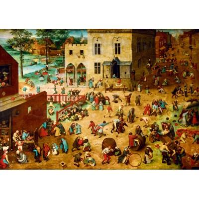 Puzzle Art-by-Bluebird-Puzzle-60034 Pieter Bruegel the Elder - Children's Games, 1560