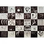 Puzzle  Art-by-Bluebird-Puzzle-60051 Kandinsky - Trente, 1937
