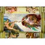 Puzzle  Art-by-Bluebird-Puzzle-60053 Michelangelo - The Creation of Adam, 1511