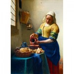 Puzzle  Art-by-Bluebird-Puzzle-60066 Vermeer- The Milkmaid, 1658