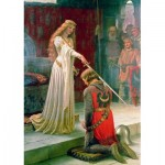 Puzzle  Art-by-Bluebird-Puzzle-60071 Edmund Blair Leighton - The Accolade, 1901