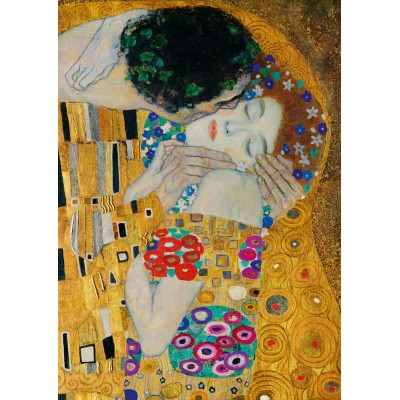 Puzzle Art-by-Bluebird-Puzzle-60079 Gustave Klimt - The Kiss (detail), 1908