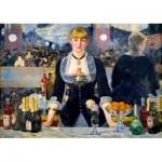 Puzzle  Art-by-Bluebird-Puzzle-60080 Édouard Manet - A Bar at the Folies-Bergère, 1882