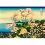 Puzzle  Art-by-Bluebird-Puzzle-60093 Katsushika Hokusai - Shinagawa on the Tokaido, 1832