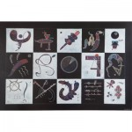 Puzzle  Art-by-Bluebird-Puzzle-60109 Kandinsky - Quinze, 1959