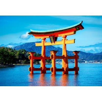 Puzzle Bluebird-Puzzle-70009 The torii of Itsukushima Shrine