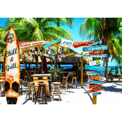 Puzzle  Bluebird-Puzzle-70016 Willemstad Beach