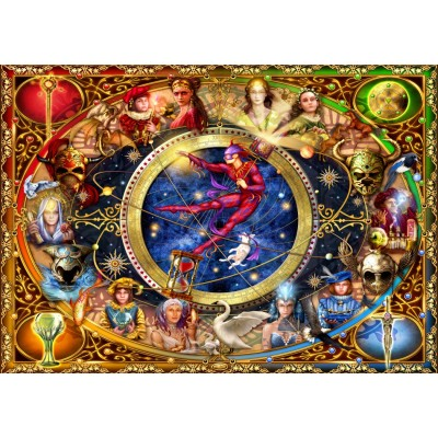 Puzzle Bluebird-Puzzle-70021 Legacy of the Divine Tarot