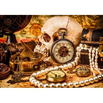 Puzzle Bluebird-Puzzle-70048 Pirate Treasure