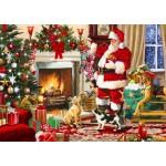 Puzzle  Bluebird-Puzzle-70075 Santa Interior