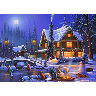 Puzzle Bluebird-Puzzle-70094 Holiday Spirit