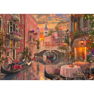 Puzzle Bluebird-Puzzle-70115 An Evening Sunset in Venice