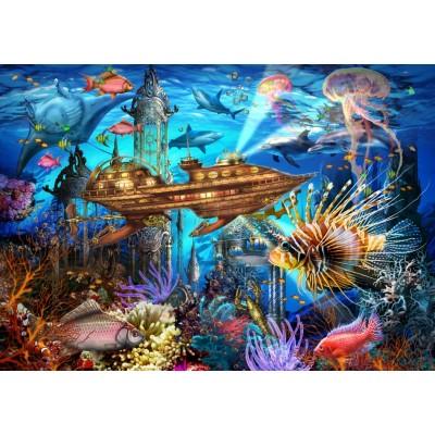 Puzzle Bluebird-Puzzle-70121 Aqua City