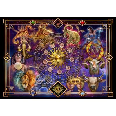 Puzzle  Bluebird-Puzzle-70123 Zodiac Montage