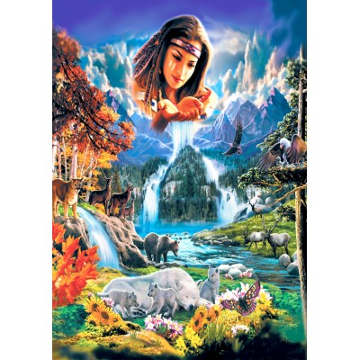Puzzle  Bluebird-Puzzle-70135 Four Seasons
