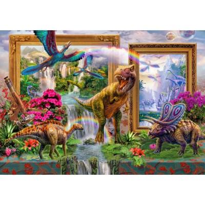 Puzzle Bluebird-Puzzle-70139 Dinoblend