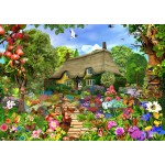 Puzzle  Bluebird-Puzzle-70141 English Cottage Garden