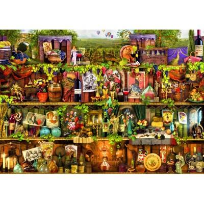 Puzzle  Bluebird-Puzzle-70142 Wine Shelf