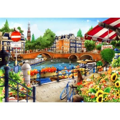 Puzzle  Bluebird-Puzzle-70143 Amsterdam