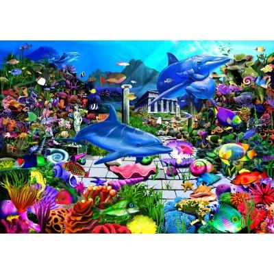 Puzzle Bluebird-Puzzle-70145 Lost Undersea World