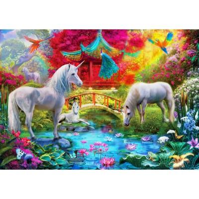 Puzzle  Bluebird-Puzzle-70148 Oriental Unicorns