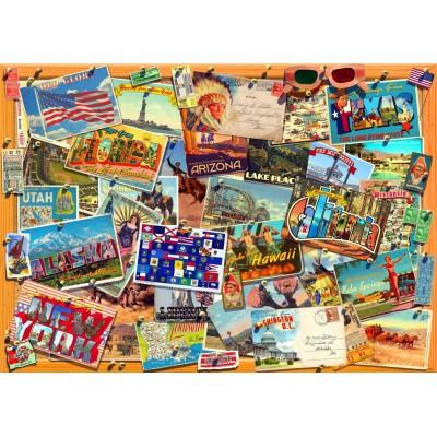 Puzzle Bluebird-Puzzle-70170 Postcard (USA)