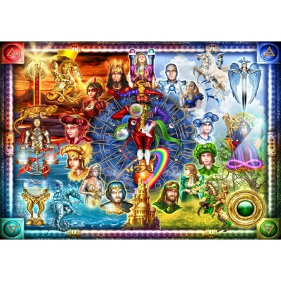Puzzle  Bluebird-Puzzle-70178 Tarot of Dreams