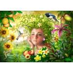Puzzle  Bluebird-Puzzle-70179 Spirit of Summer
