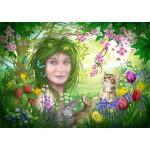 Puzzle  Bluebird-Puzzle-70182 Spirit of Spring