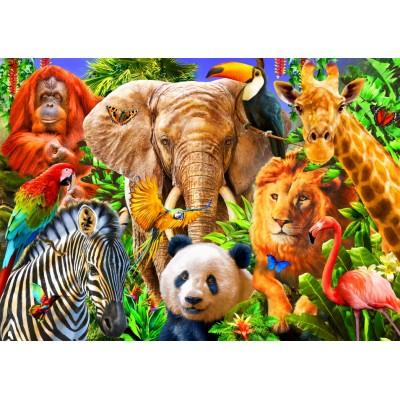 Puzzle Bluebird-Puzzle-70187 Animals for kids