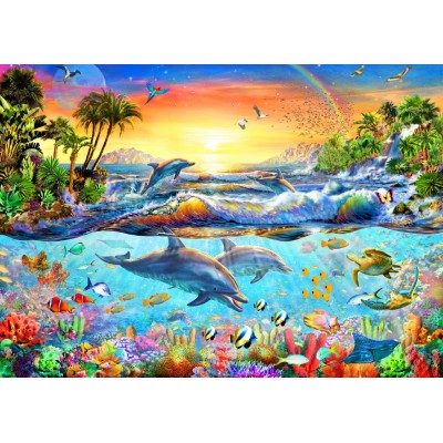 Puzzle Bluebird-Puzzle-70194 Tropical Bay