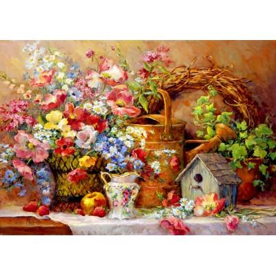 Puzzle  Bluebird-Puzzle-70218 Garden Medley