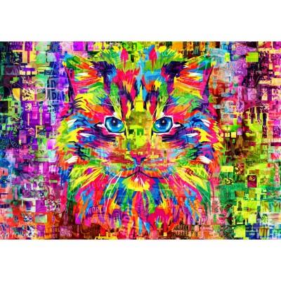 Puzzle Bluebird-Puzzle-70220 Wonderful Cat