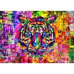 Puzzle  Bluebird-Puzzle-70221 Wonderful Tiger