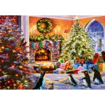 Puzzle  Bluebird-Puzzle-70228-P A Magical View to Christmas