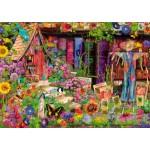 Puzzle  Bluebird-Puzzle-70238-P The Scarecrow's Garden