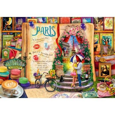 Puzzle Bluebird-Puzzle-70239-P Life is an Open Book Paris