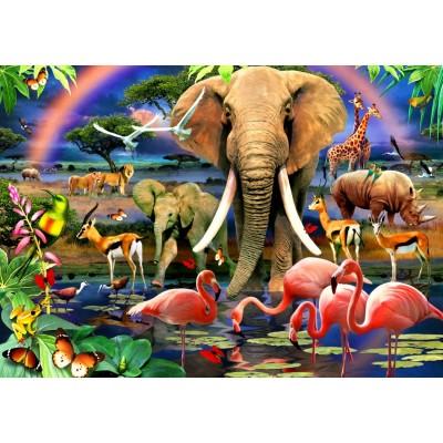 Puzzle  Bluebird-Puzzle-70286 African Savannah