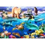 Puzzle  Bluebird-Puzzle-70288 Oceans of Life
